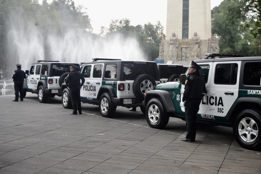 Garantiza gobierno capitalino cobertura policial en la ciudad, con 82 nuevas patrullas para Álvaro Obregón