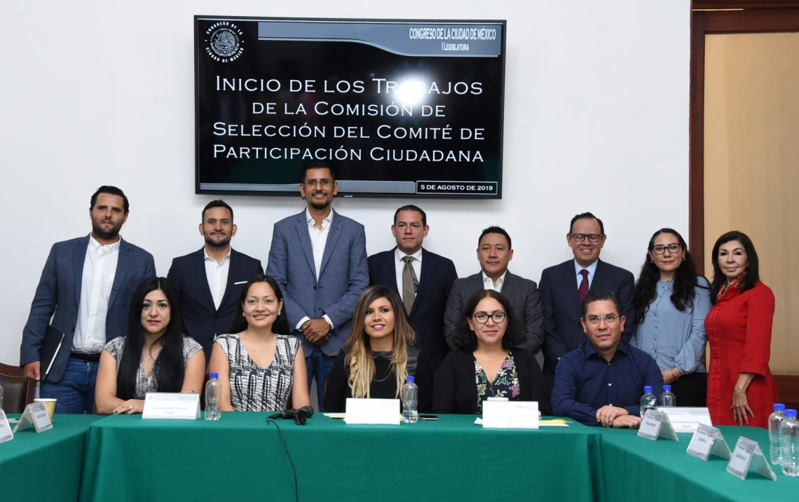 Inician trabajos para designar al Comité de Participación Ciudadana del Sistema Local Anticorrupción