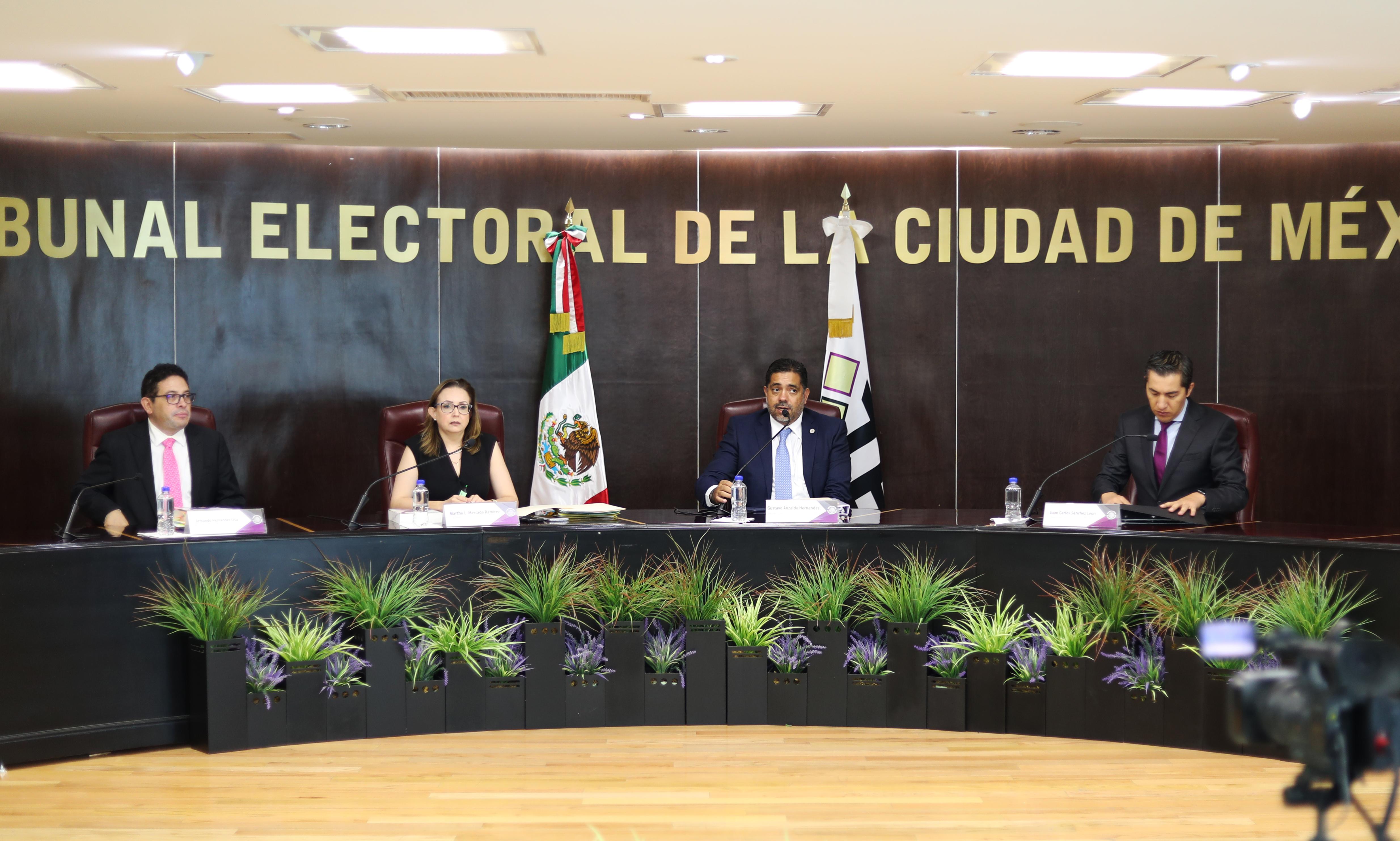Resuelve TECDMX cumplimientos de sentencia de la Sala Regional CDMX