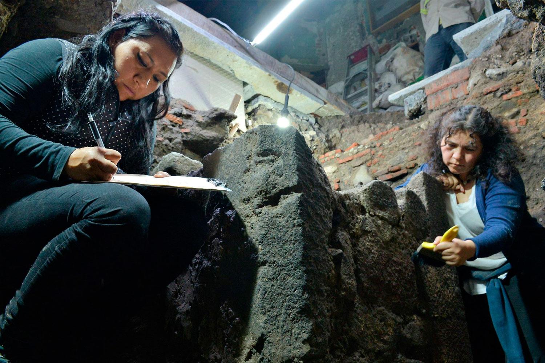Descubren restos de una vivienda construida poco después de la Conquista