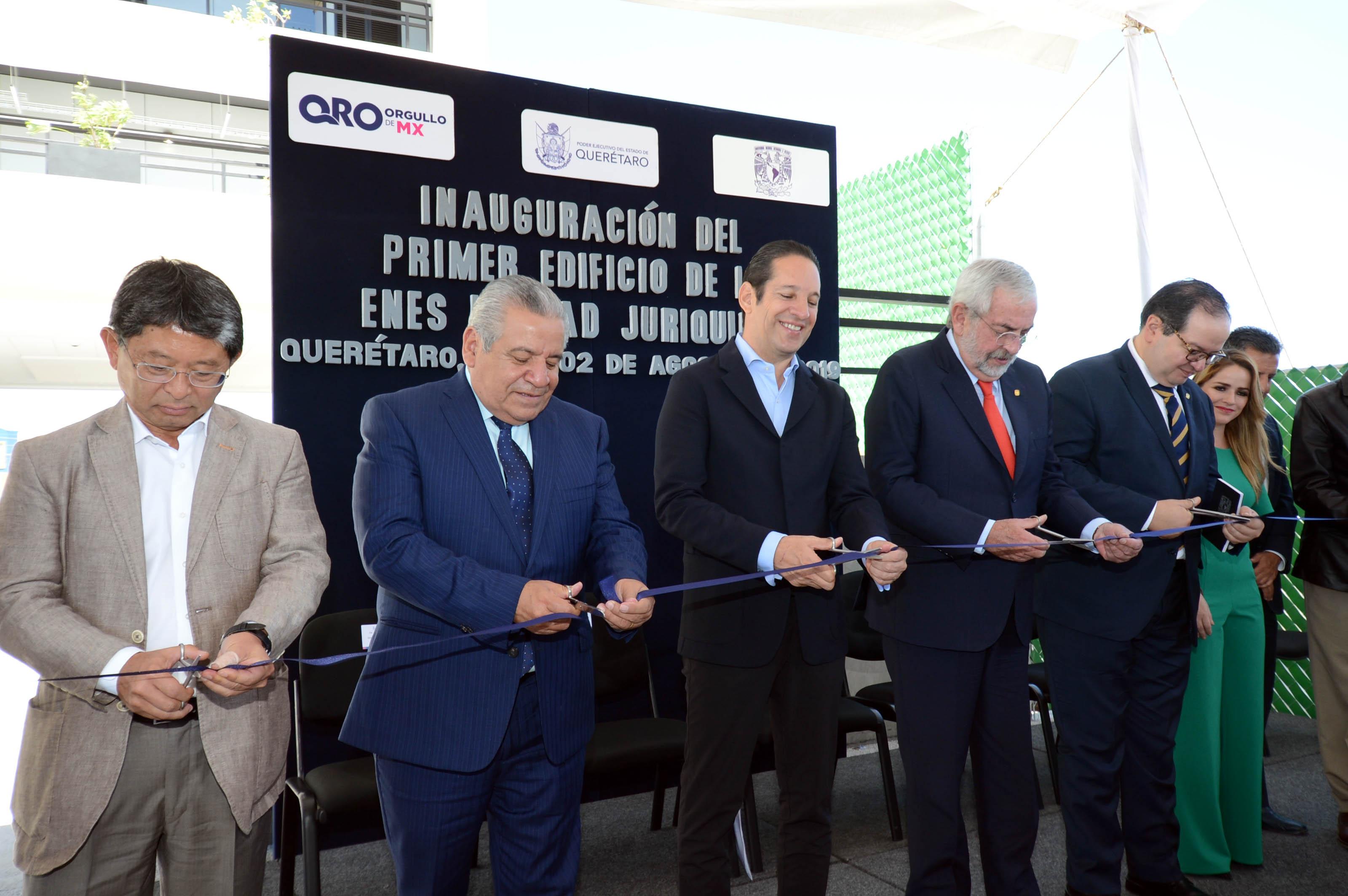 Inaugura UNAM Escuela Nacional de Estudios Superiores Juriquilla