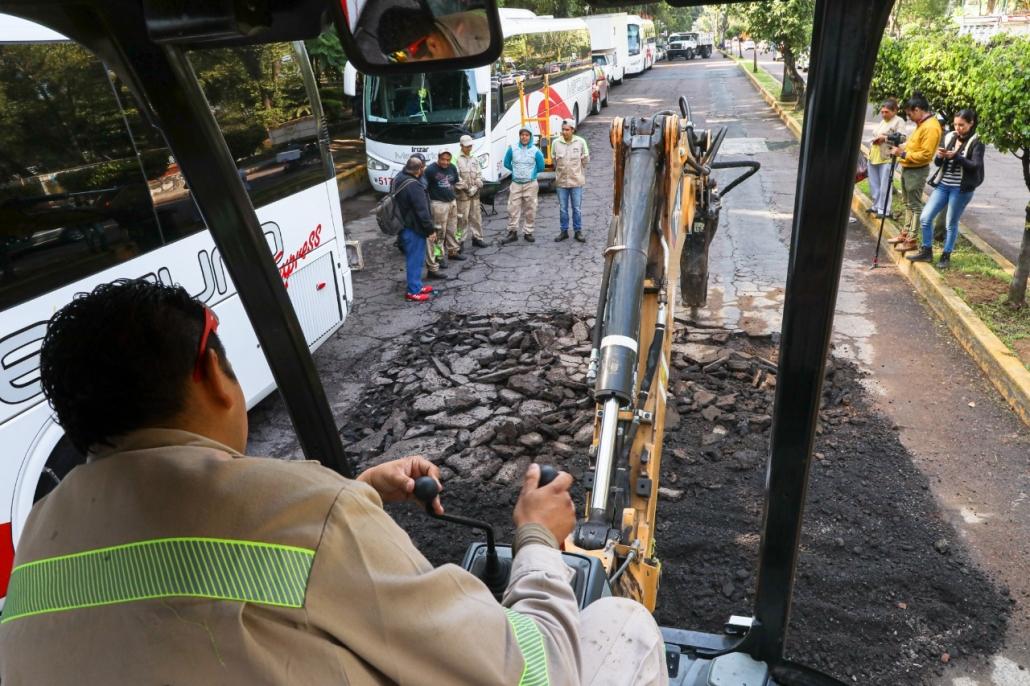 Gobierno de la CDMX y Alcaldía Cuauhtémoc llevan jornada integral de servicios a colonia Roma
