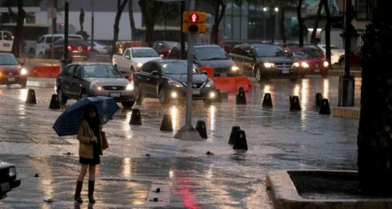 Este jueves se presentarán lluvias ligeras al Sur y Poniente de la Capital