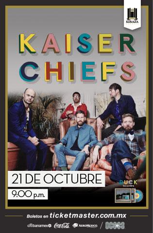 Kaiser Chiefs estará de regreso en México con Duck su nuevo disco