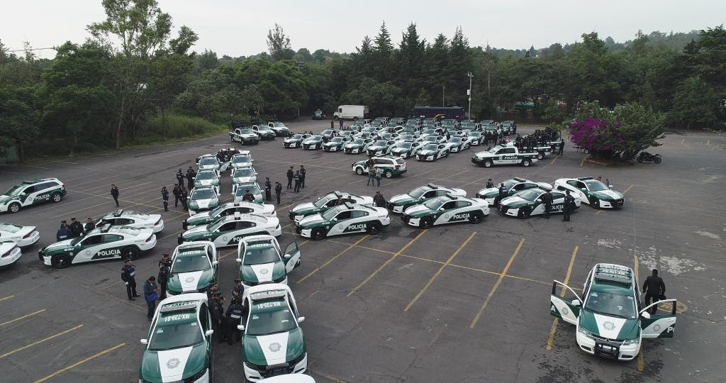 Tlalpan recibe 84 nuevas patrullas de la CDMX