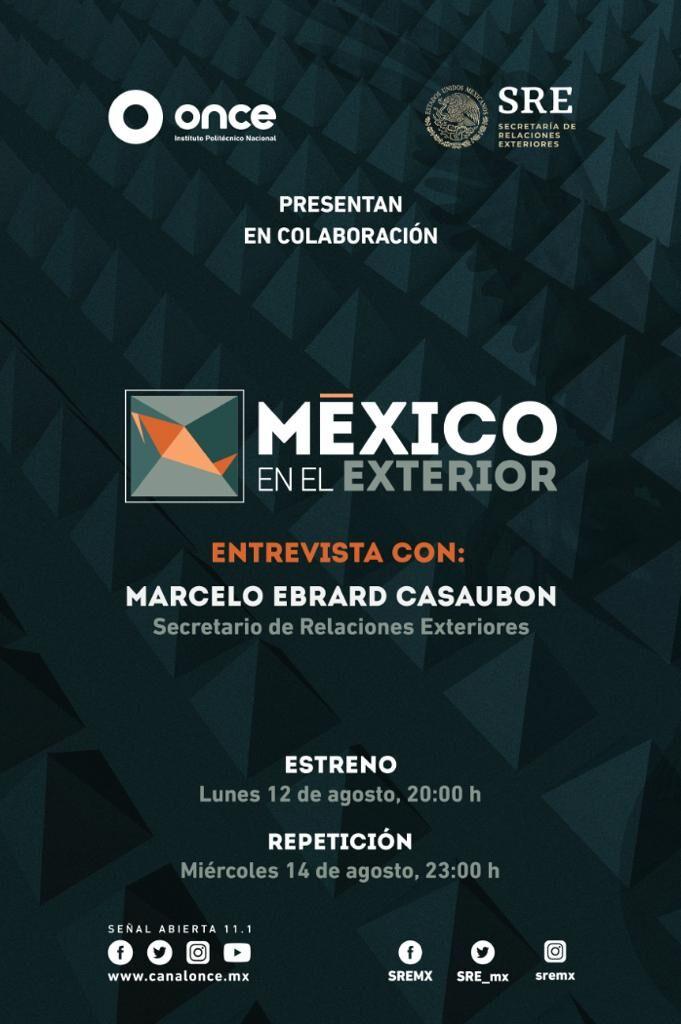 México en el exterior es la nueva serie del ONCE