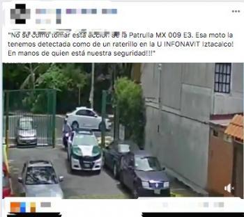 SSC investiga denuncia realizada en Redes Sociales sobre la actuación de los tripulantes de una unidad adscrita a Iztacalco