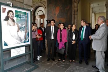 Inaugura Esteban Moctezuma Barragán talleres del Programa de Extensión Educativa