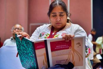 Pueblos indígenas y afromexicano aportan desde su cosmovisión para definir derechos constitucionales