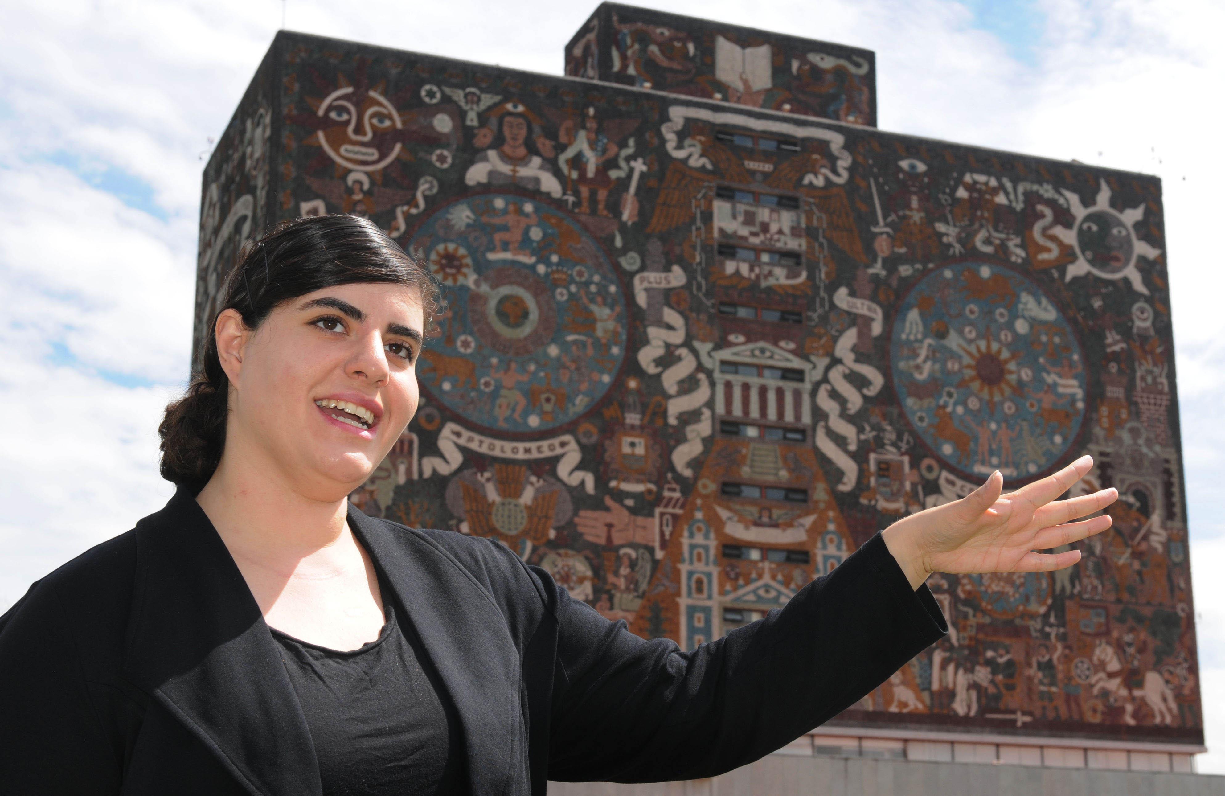 Obtiene Exalumna de la UNAM Beca para Doctorado en el MIT