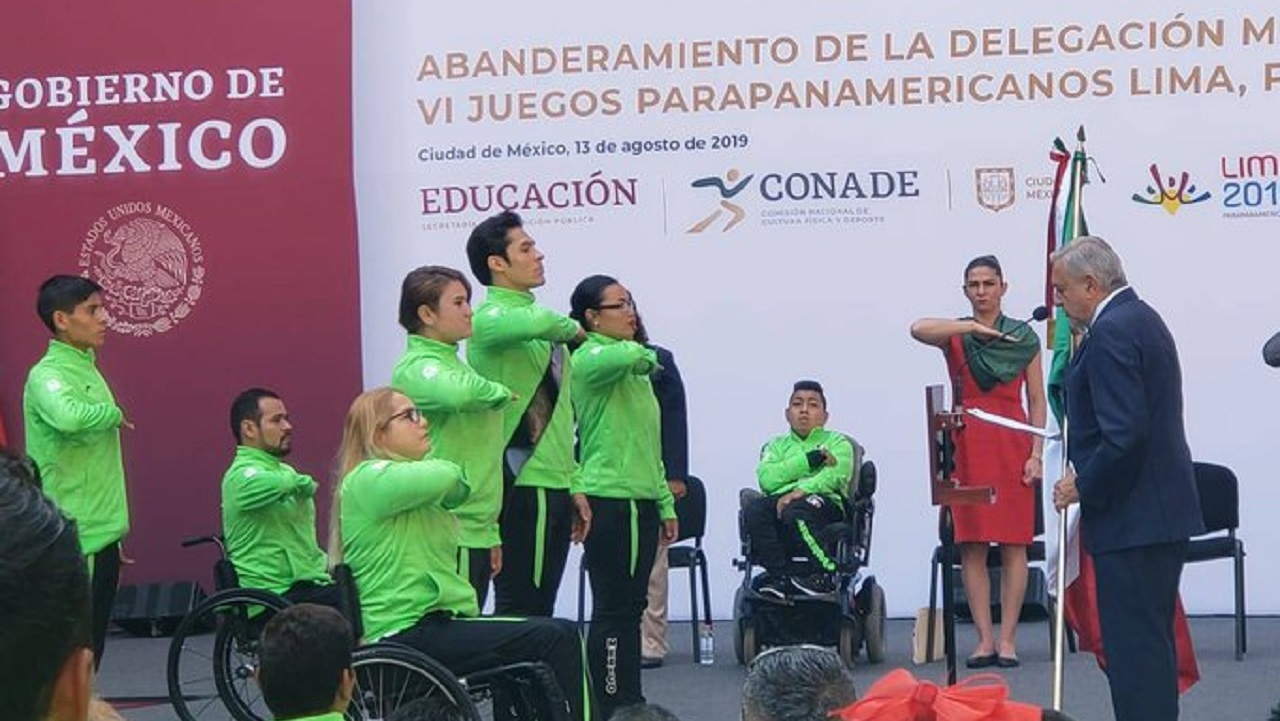 Atletas mexicanos que competirán en Parapanamericanos también recibirán apoyo económico