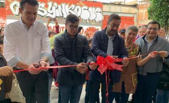 Inauguración Lechería LICONSA en la Providencia