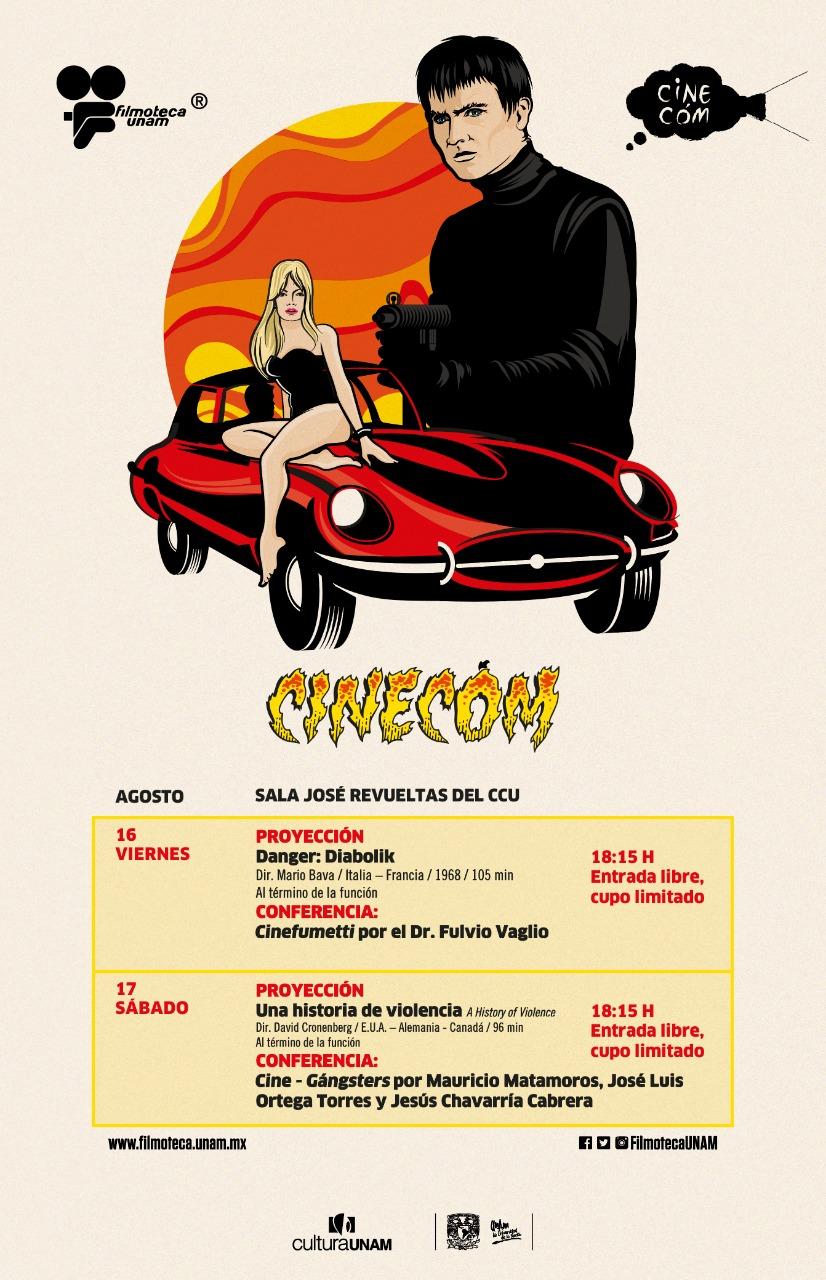 Foro Cinecóm 2019 en la Filmoteca de la UNAM