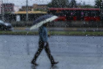 Este jueves en la Ciudad prevalecerán las lluvias fuertes al Poniente