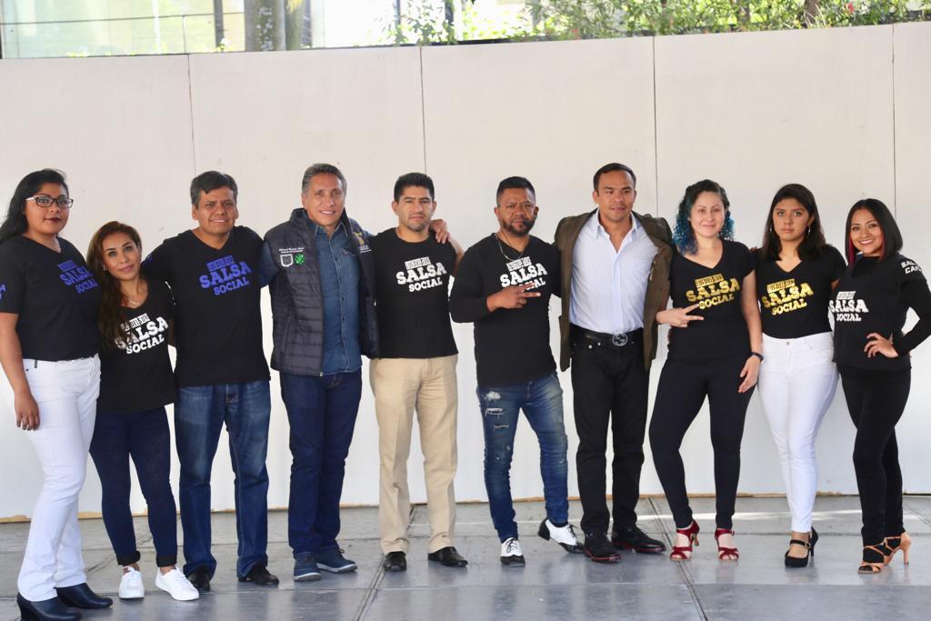 El alcalde Manuel Negrete Arias encabezó el programa Actívate en tu Trabajo