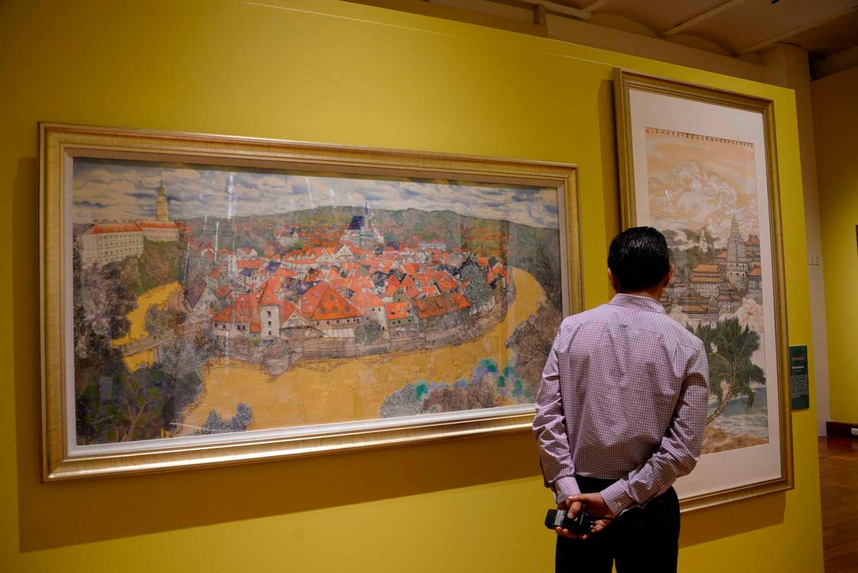 Arte contemporáneo de China llega al Museo Nacional de las Culturas del Mundo