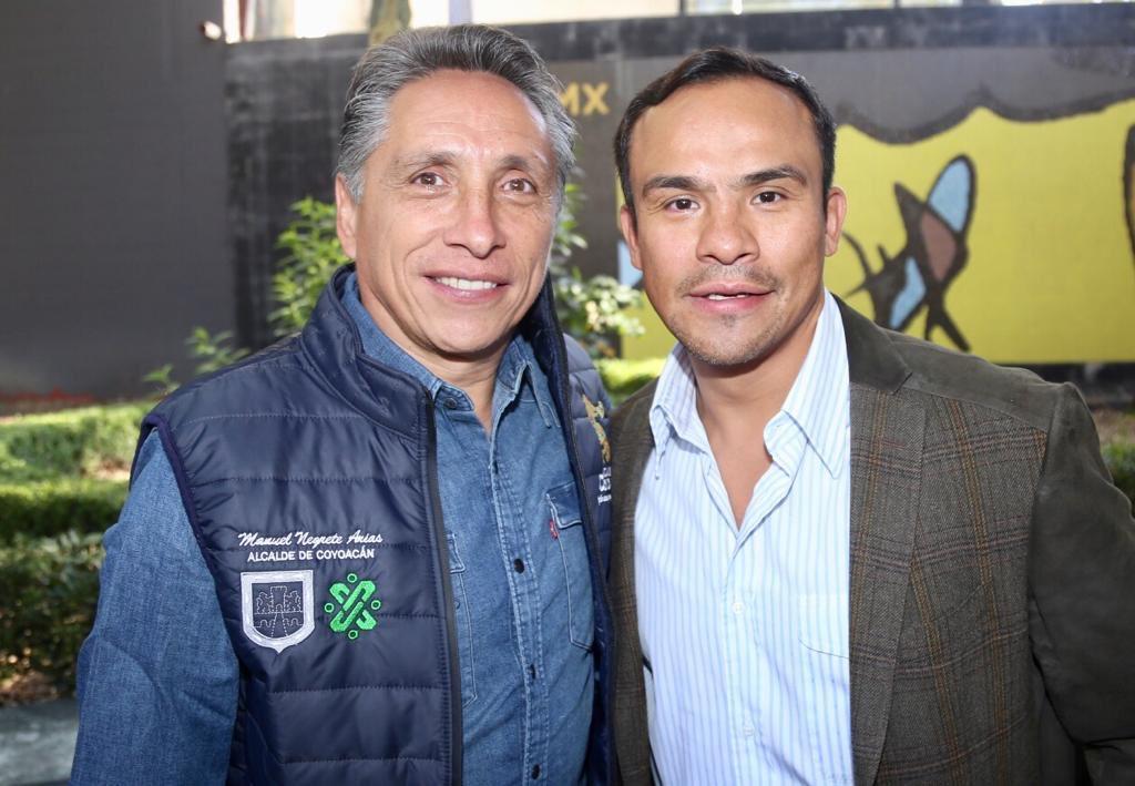 El alcalde Manuel Negrete Arias encabezó el programa Actívate en tu Trabajo en el parque Frida Kahlo