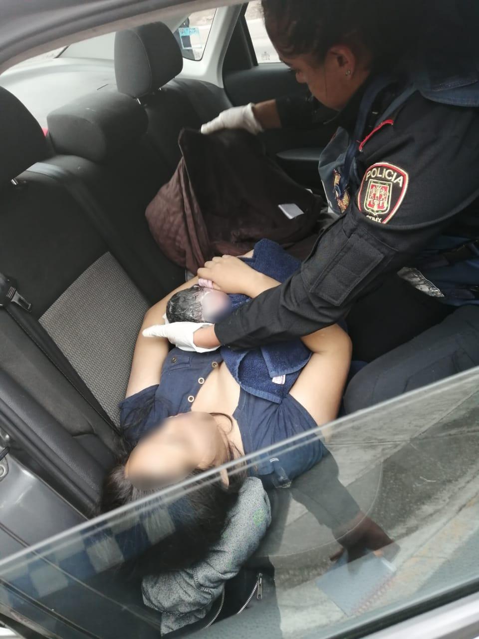 Policías de Proximidad de ÁO apoyan exitosamente a Mujer en labor de parto en calles de la Colonia las Águilas