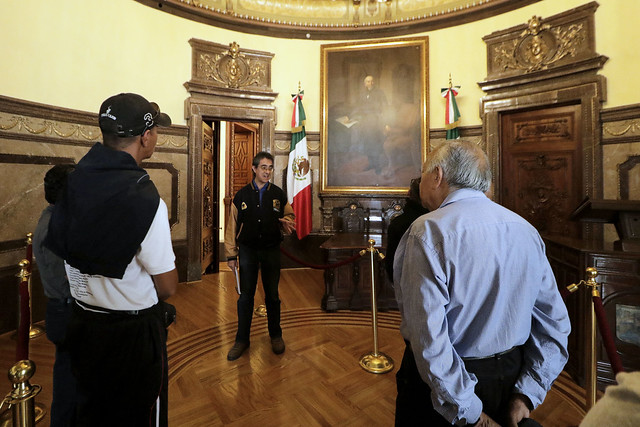 Dedica Salón de Cabildos visita guiada a Tratados de Córdoba