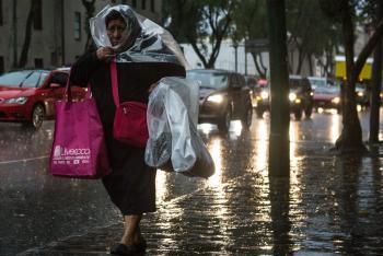 Se prevén lluvias nocturnas este martes al Sur y Poniente de la Metrópoli