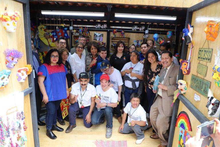 Tlalpan promueve la inclusión laboral de adultos con discapacidad
