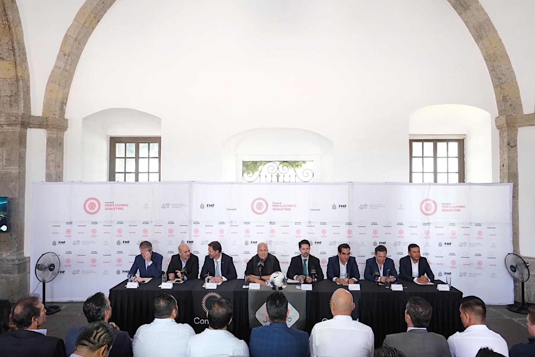Jalisco será Sede del Torneo Preolímpico de Futbol rumbo a Tokyo 2020
