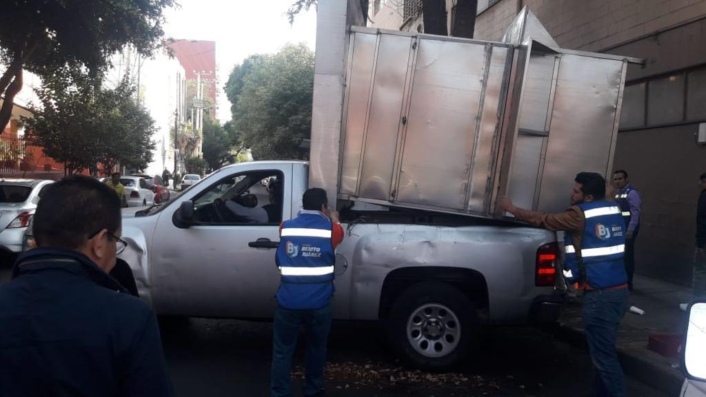 Recuperación del espacio público y el orden es prioridad de gobierno en la Alcaldía Benito Juárez
