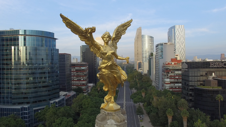 Columna de la Independencia se encuentra bajo el resguardo del Gobierno de la Ciudad de México