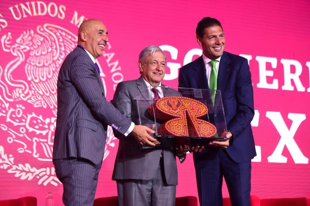 Presidente López Obrador clausura Foro Estrategia Banorte 2019