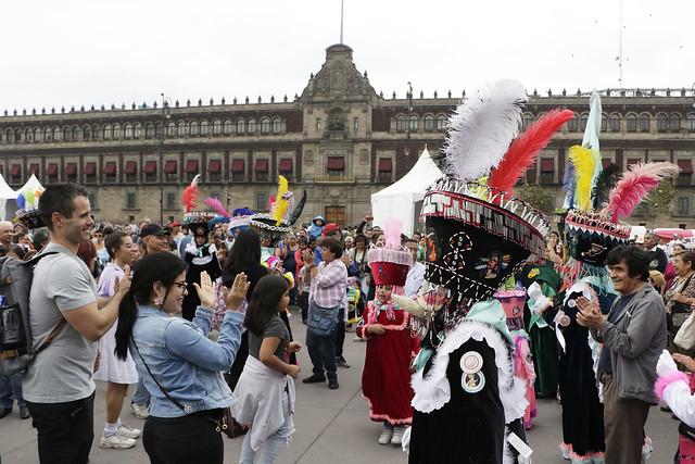 Sexta Fiesta de las Culturas Indígenas regresa el 28 de agosto al Zócalo capitalino