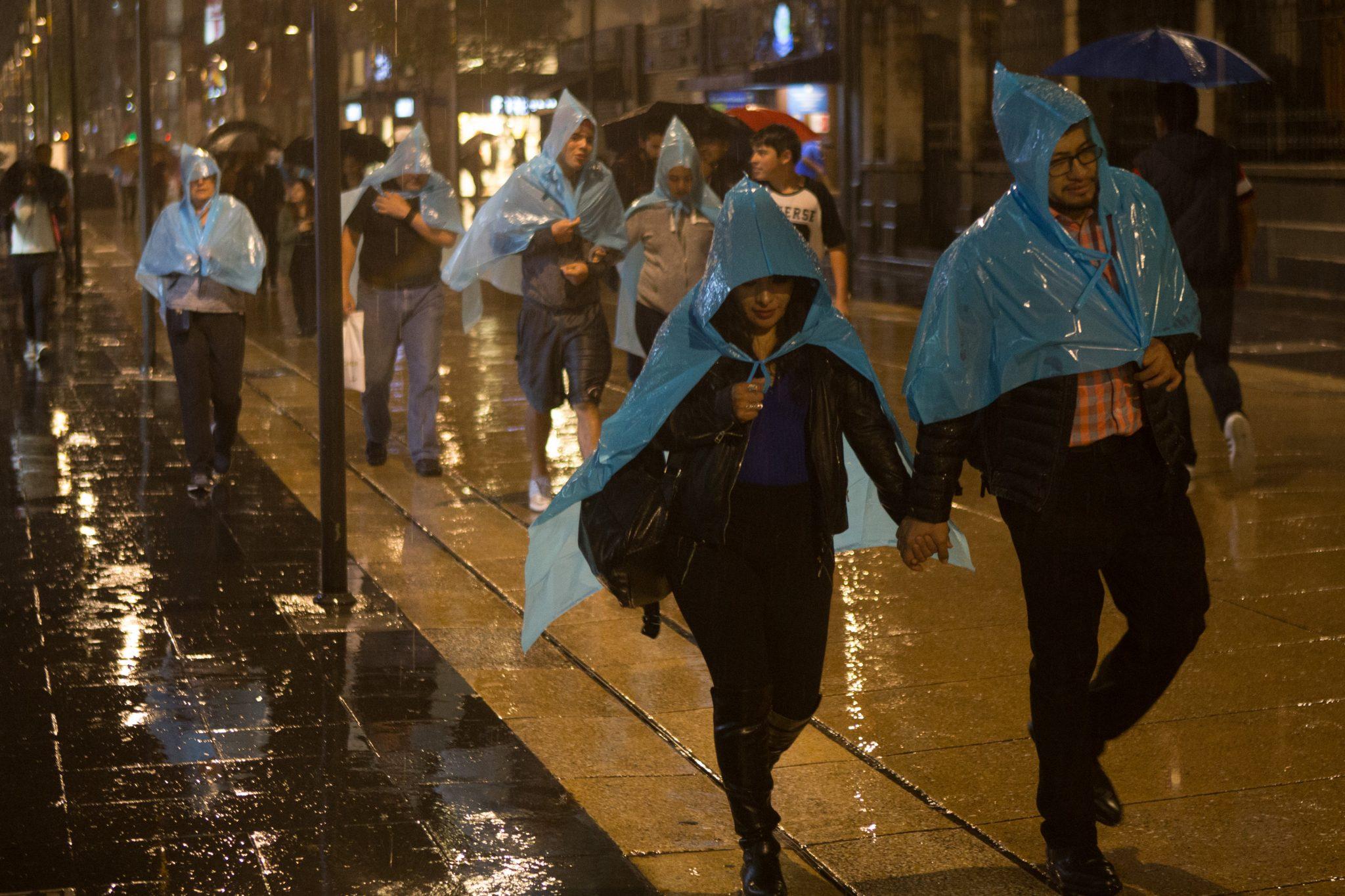 Este Lunes se pronostican lluvias fuertes al Poniente de la Ciudad