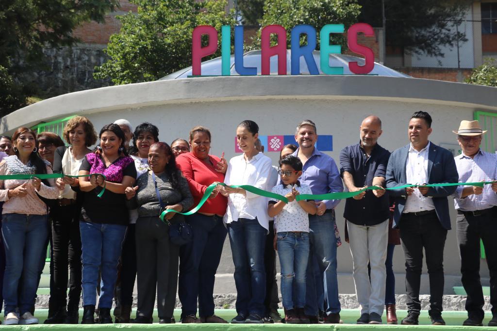 Inaugura Claudia Sheinbaum dos nuevos PILARES en la alcaldía Iztapalapa
