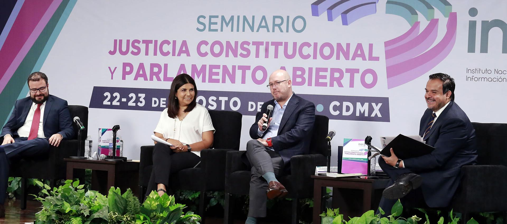 La transparencia debe ser información de calidad y vivirse con intensidad: Julio César Bonilla Gutiérrez