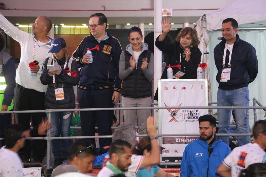 XXXVII Maratón de la CDMX un orgullo para la ciudad