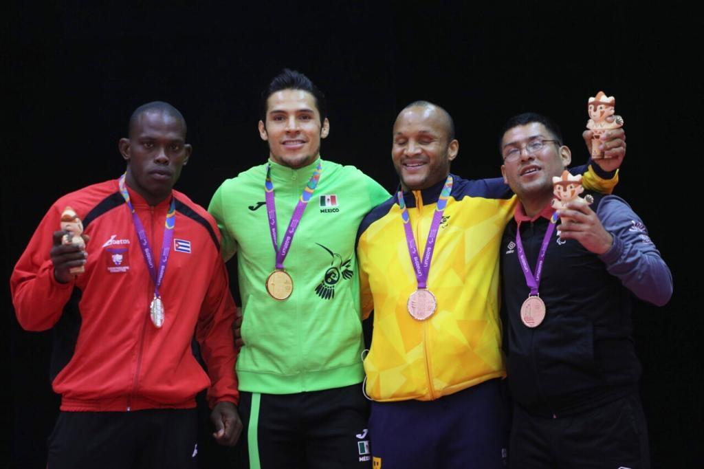 Eduardo Ávila y Lenia Ruvalcaba se coronan en el judo de Parapanamericanos Lima 2019
