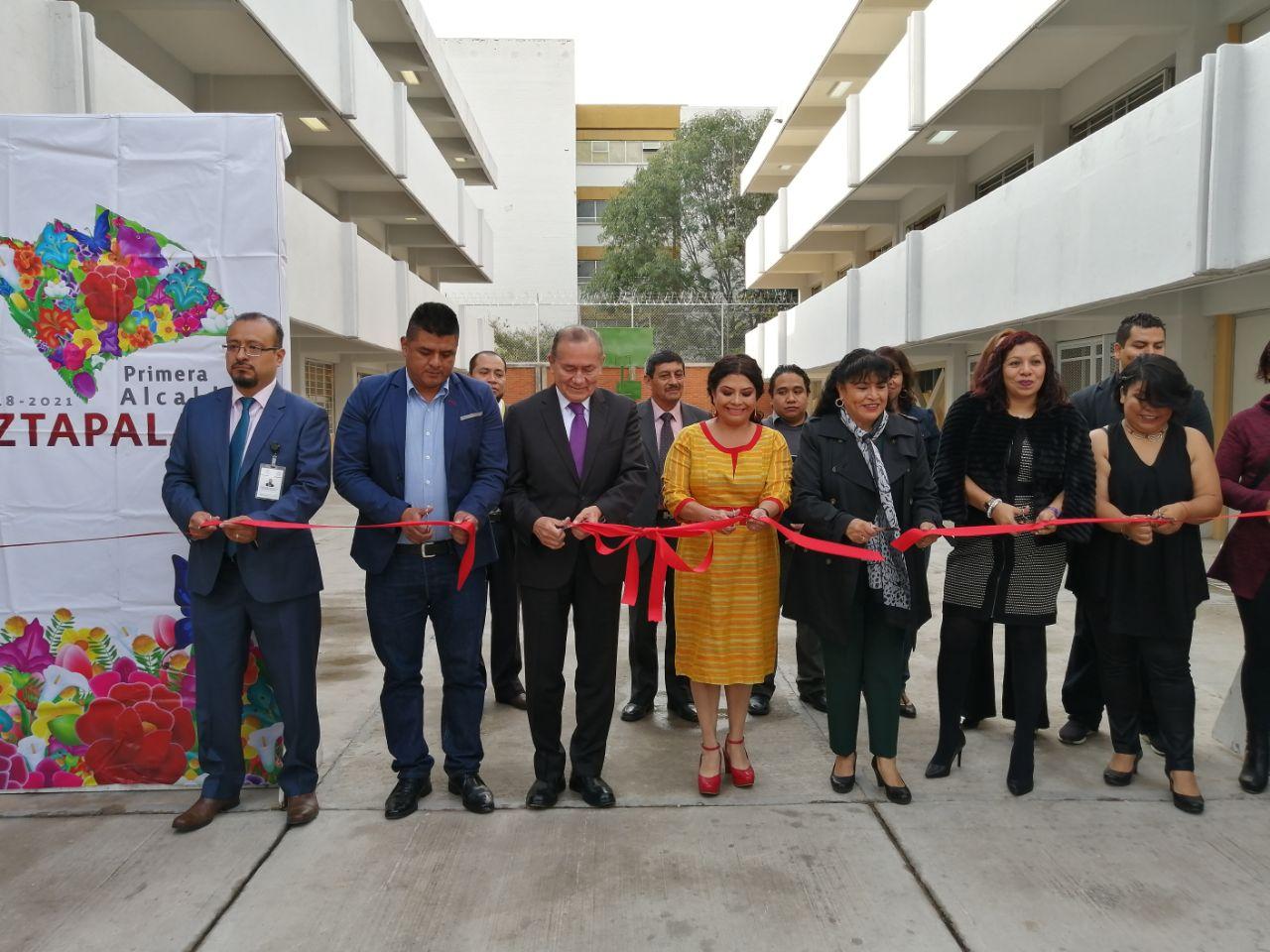 Con entrega de escuela rehabilitada la Alcaldesa de Iztapalapa y el Director del INIFED inauguran el Ciclo Escolar 2019-2020