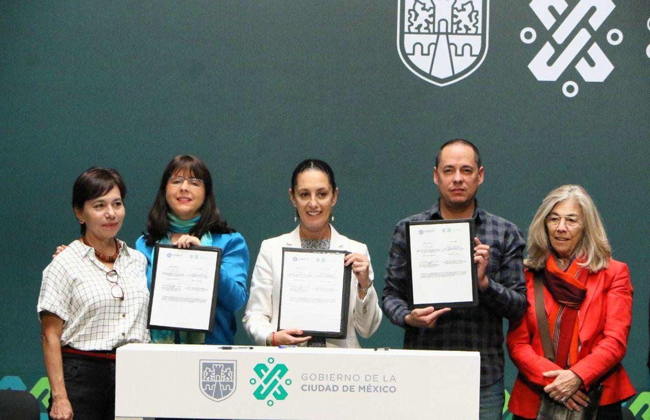 Firman Gobierno de la CDMX y CONACYT para pronosticar contaminación con 24 horas de anticipación