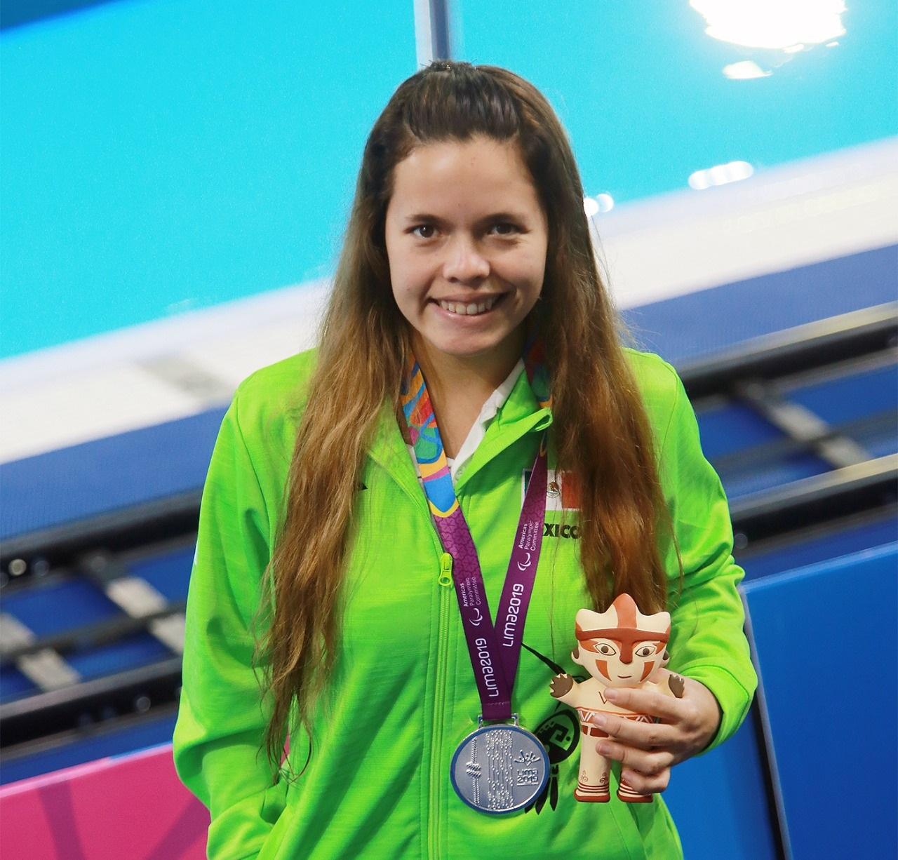 Brilla Naomi Somellera en segunda jornada de para natación en Lima 2019
