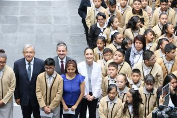 Con educación contribuye Gobierno CDMX a la cuarta transformación