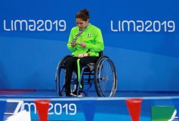 Se consagra Nesbith Vázquez campeona parapanamericana en Lima 2019