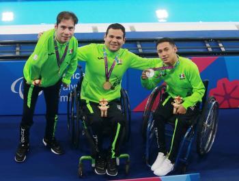 Suma México cuatro oros en sesión matutina para natación en Lima 2019