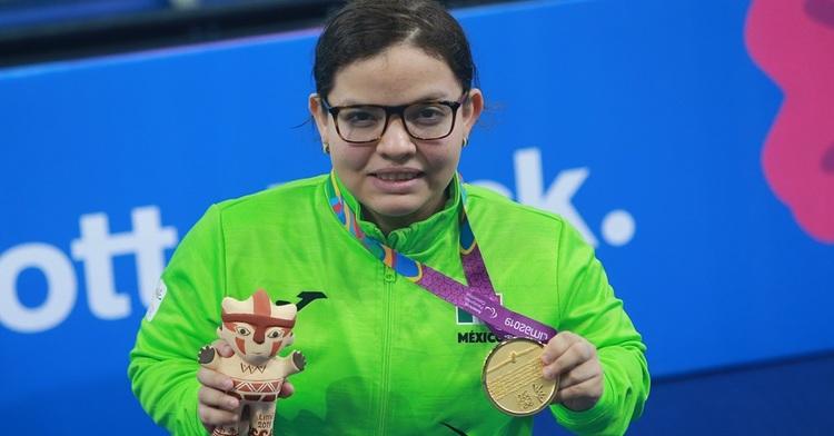 Tercer título para Naomi Somellera en la para natación de Lima 2019