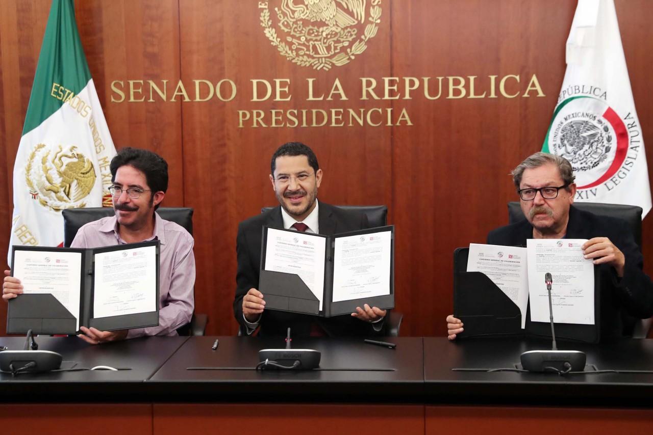 Firman convenio de colaboración para editar libros históricos a precios bajos