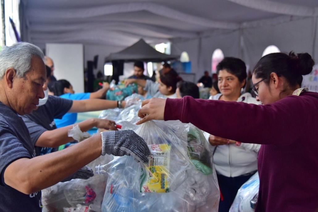 Plastianguis en Cuauhtémoc ha recolectado 5 toneladas de residuos sólidos