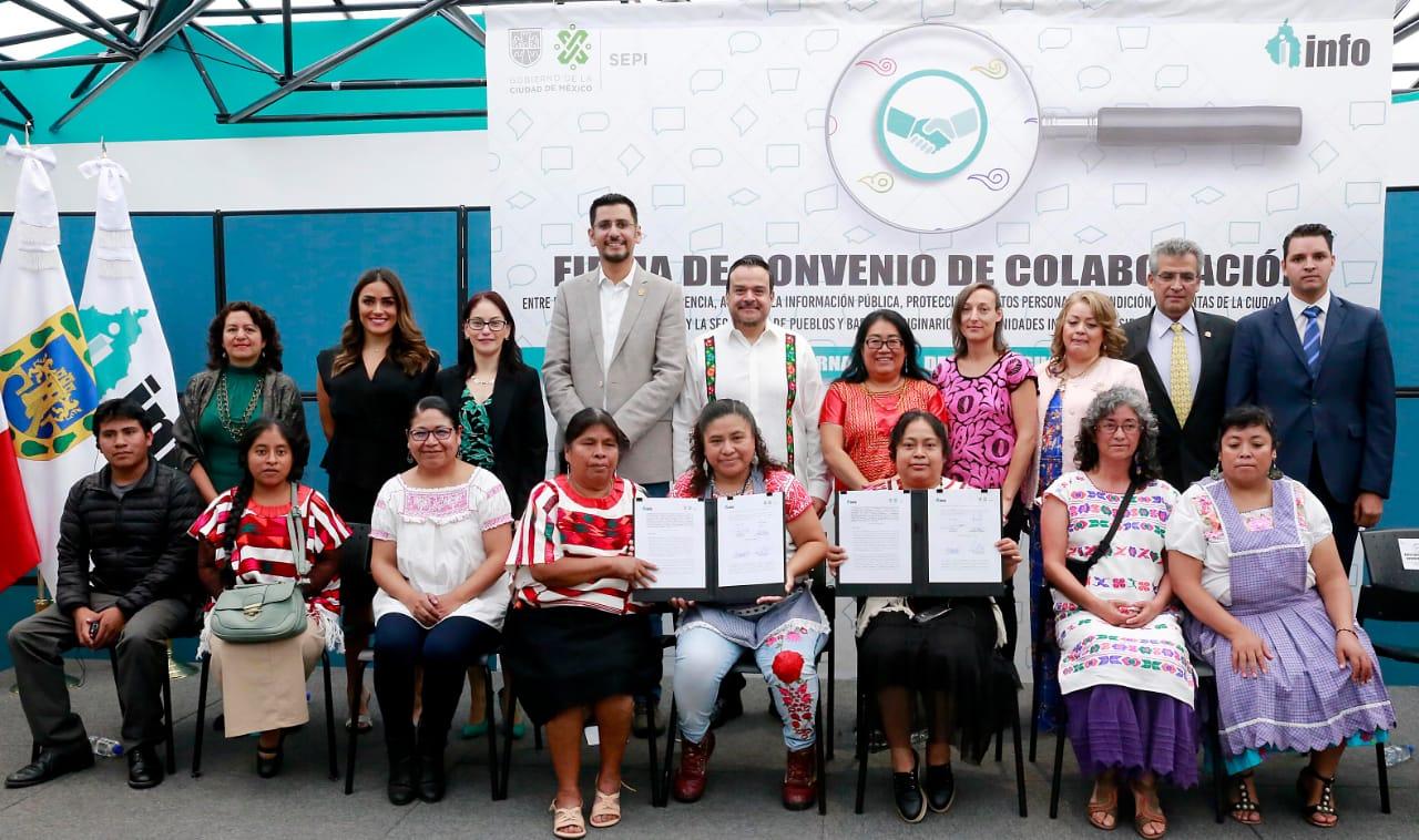 El INFO y la SEPI establecen alianza por los Derechos Lingüisticos y el Acceso a la Información Pública de la Población Indígena
