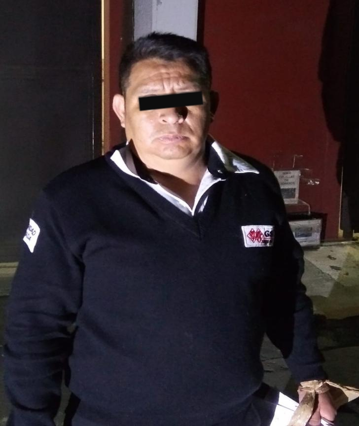 SSC detiene a Guardia de Seguridad por su probable participación con el robo de un Cajero Automático en Iztapalapa