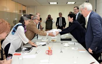 Recibe INAH proyectos para restauración de dos inmuebles dañados por sismos de la Universidad de Roma Tre