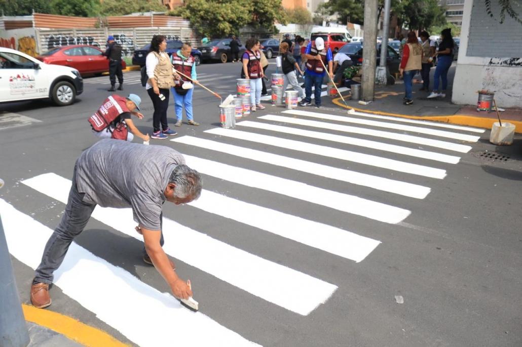 Mejoran entorno de la colonia Tránsito para hacer los caminos más seguros