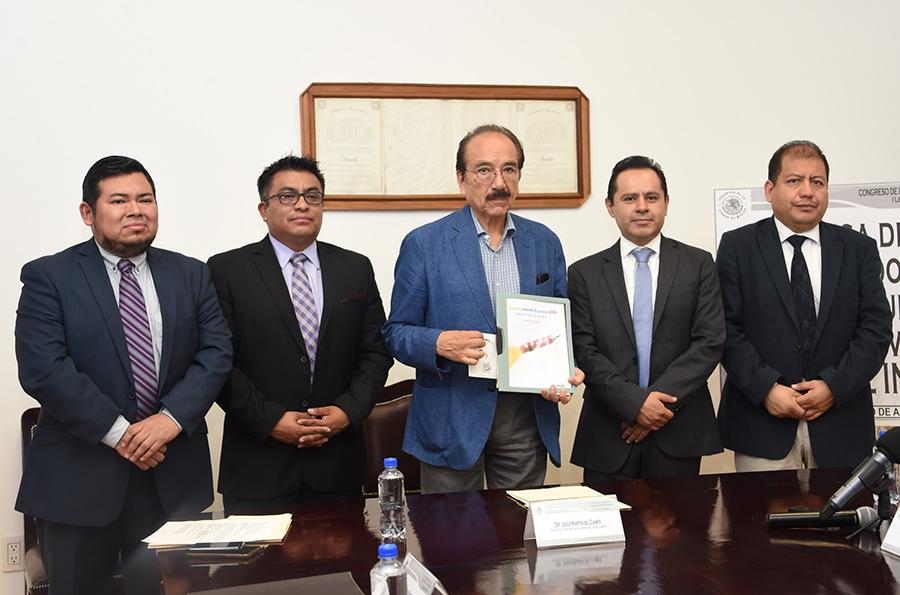 El Congreso de la CDMX recibió del INE los resultados de la Consulta Infantil y Juvenil 2018