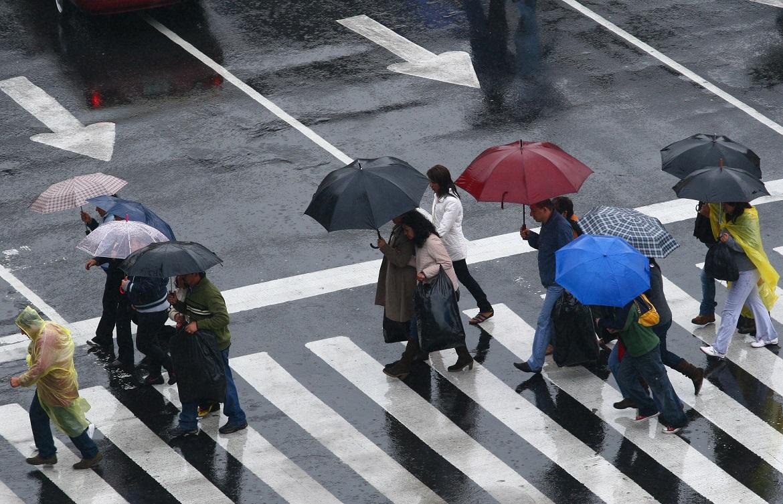 Viernes con lluvias ligeras al Poniente de la Capital